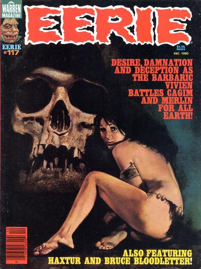 Cover for Eerie (Warren, 1966 series) #117
