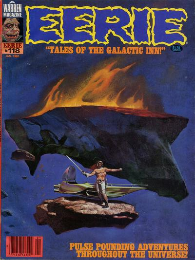 Cover for Eerie (Warren, 1966 series) #118