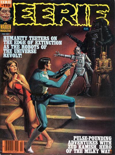 Cover for Eerie (Warren, 1966 series) #119