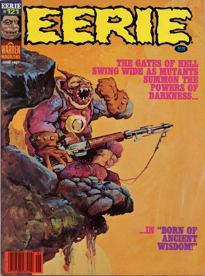 Cover for Eerie (Warren, 1966 series) #121