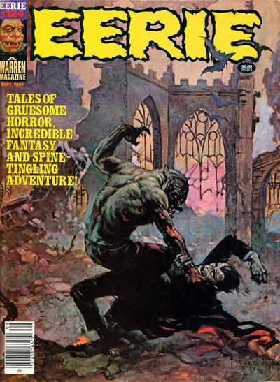 Cover for Eerie (Warren, 1966 series) #124