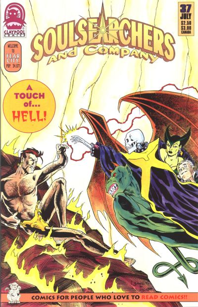 Cover for Soulsearchers and Company (Claypool Comics, 1993 series) #37