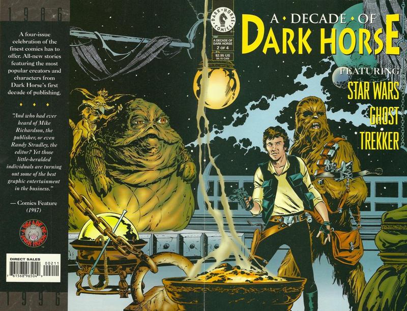 Cover for A Decade of Dark Horse (Dark Horse, 1996 series) #2