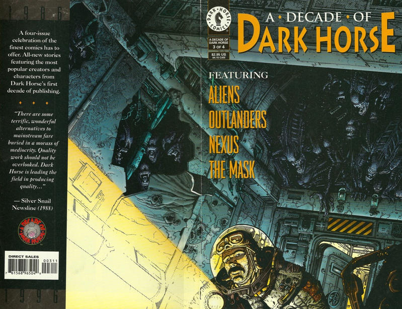 Cover for A Decade of Dark Horse (Dark Horse, 1996 series) #3