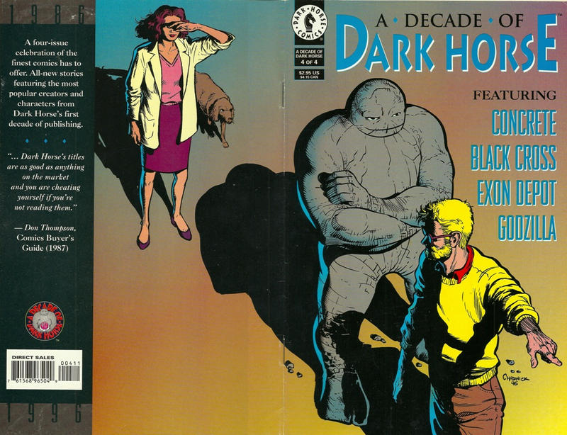 Cover for A Decade of Dark Horse (Dark Horse, 1996 series) #4