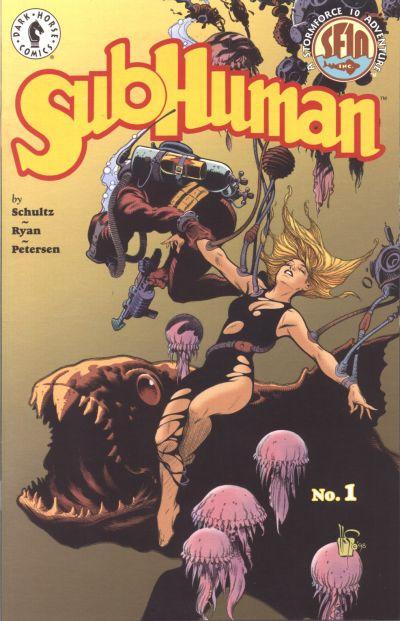 Cover for SubHuman (Dark Horse, 1998 series) #1
