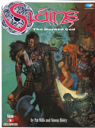 Cover for Slaine: The Horned God (Fleetway Publications, 1989 series) #1