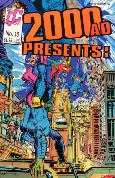 Cover for 2000 A. D. Presents (Fleetway/Quality, 1987 series) #18