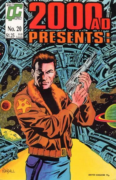 Cover for 2000 A. D. Presents (Fleetway/Quality, 1987 series) #20