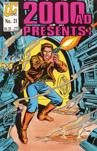 Cover for 2000 A. D. Presents (Fleetway/Quality, 1987 series) #21 [US]