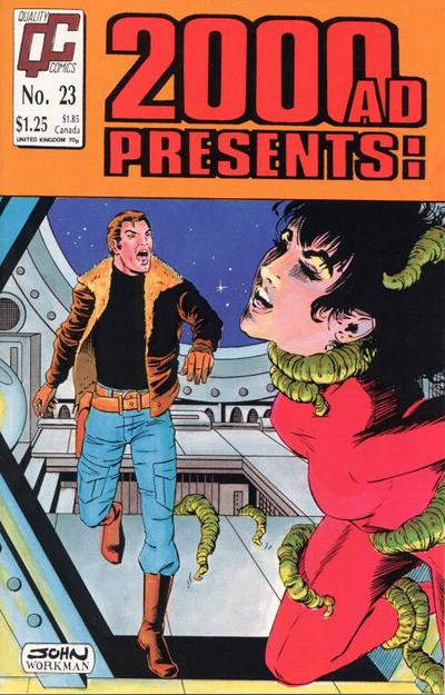 Cover for 2000 A. D. Presents (Fleetway/Quality, 1987 series) #23 [US]