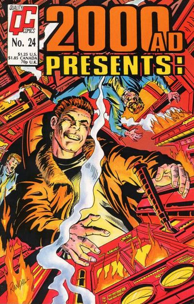 Cover for 2000 A. D. Presents (Fleetway/Quality, 1987 series) #24 [US]