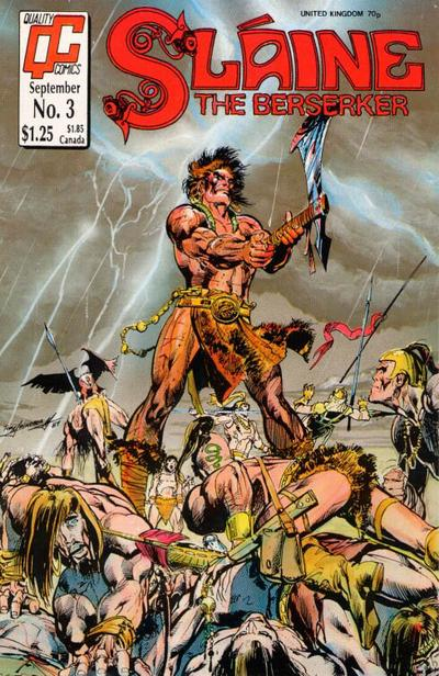 Cover for Sláine the Berserker (Fleetway/Quality, 1987 series) #3
