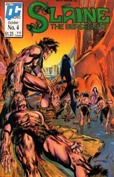 Cover for Sláine the Berserker (Fleetway/Quality, 1987 series) #4
