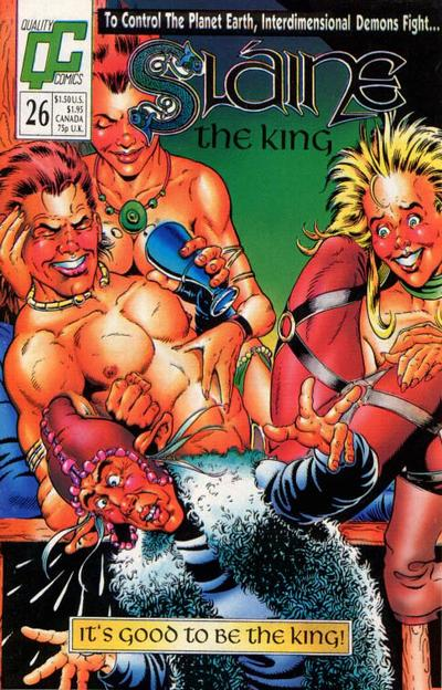 Cover for Slaine the King (Fleetway/Quality, 1989 series) #26