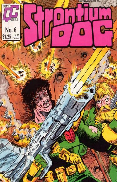 Cover for Strontium Dog (Fleetway/Quality, 1987 series) #6
