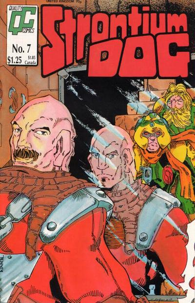 Cover for Strontium Dog (Fleetway/Quality, 1987 series) #7