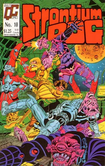 Cover for Strontium Dog (Fleetway/Quality, 1987 series) #10 [US]