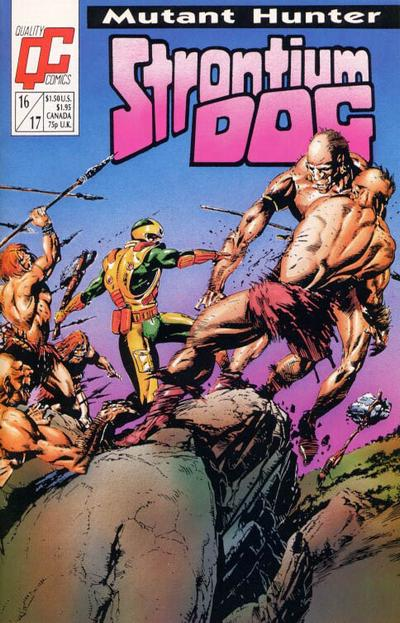 Cover for Strontium Dog (Fleetway/Quality, 1987 series) #16/17 [US]