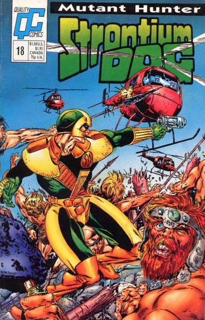 Cover for Strontium Dog (Fleetway/Quality, 1987 series) #18