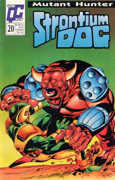Cover for Strontium Dog (Fleetway/Quality, 1987 series) #20