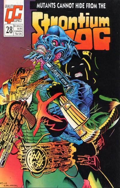 Cover for Strontium Dog (Fleetway/Quality, 1987 series) #28