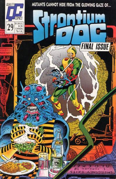 Cover for Strontium Dog (Fleetway/Quality, 1987 series) #29