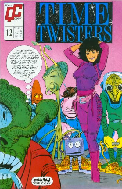 Cover for Time Twisters (Fleetway/Quality, 1987 series) #12