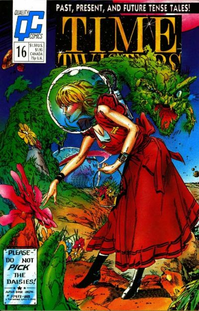 Cover for Time Twisters (Fleetway/Quality, 1987 series) #16