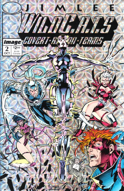 Cover for WildC.A.T.S: Covert Action Teams (Image, 1992 series) #2 [Direct]