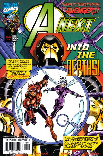 Cover for A-Next (Marvel, 1998 series) #8
