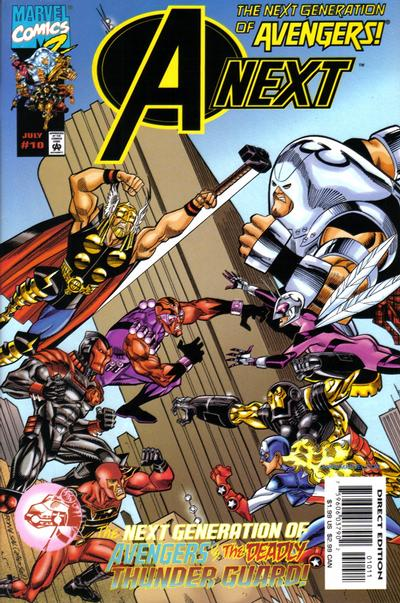 Cover for A-Next (Marvel, 1998 series) #10