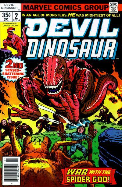 Cover for Devil Dinosaur (Marvel, 1978 series) #2