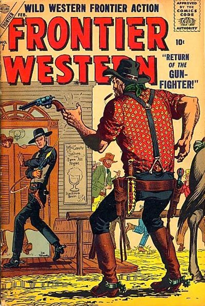 Cover for Frontier Western (Marvel, 1956 series) #7