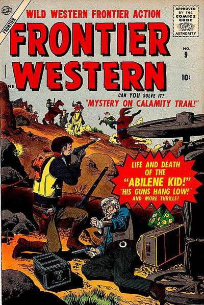 Cover for Frontier Western (Marvel, 1956 series) #9