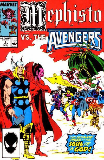 Cover for Mephisto vs. ... (Marvel, 1987 series) #4