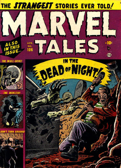 Cover for Marvel Tales (Marvel, 1949 series) #106