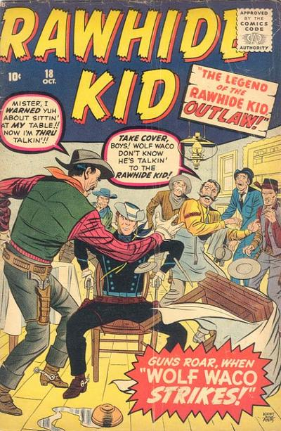 Cover for The Rawhide Kid (Marvel, 1960 series) #18