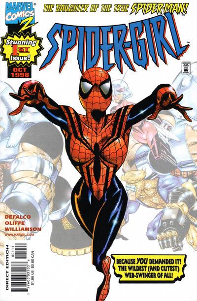 Cover for Spider-Girl (Marvel, 1998 series) #1