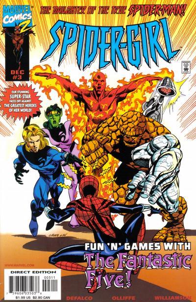 Cover for Spider-Girl (Marvel, 1998 series) #3