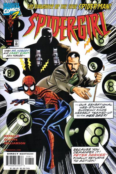 Cover for Spider-Girl (Marvel, 1998 series) #8
