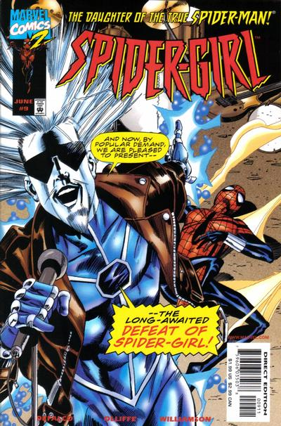 Cover for Spider-Girl (Marvel, 1998 series) #9