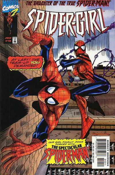 Cover for Spider-Girl (Marvel, 1998 series) #10