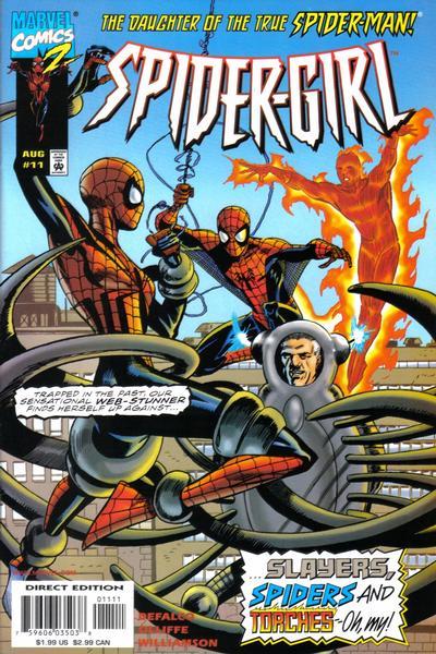 Cover for Spider-Girl (Marvel, 1998 series) #11