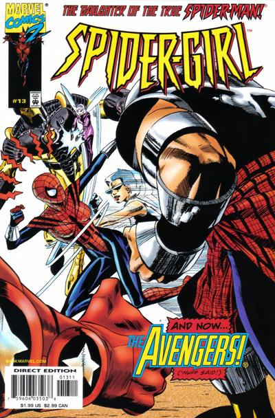 Cover for Spider-Girl (Marvel, 1998 series) #13