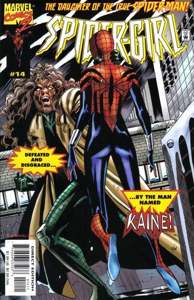 Cover for Spider-Girl (Marvel, 1998 series) #14