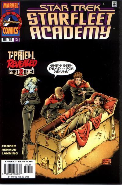 Cover for Star Trek: Starfleet Academy (Marvel, 1996 series) #15