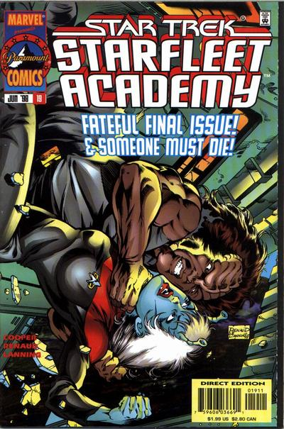 Cover for Star Trek: Starfleet Academy (Marvel, 1996 series) #19