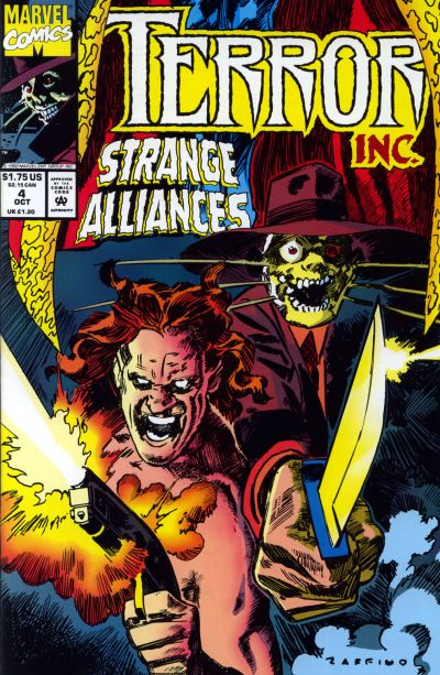 Cover for Terror Inc. (Marvel, 1992 series) #4