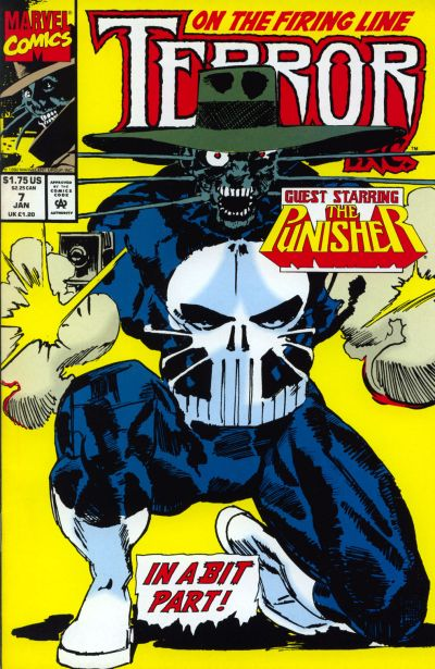 Cover for Terror Inc. (Marvel, 1992 series) #7